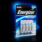 Элемент питания Lithium Energizer AAA L92 1.5V